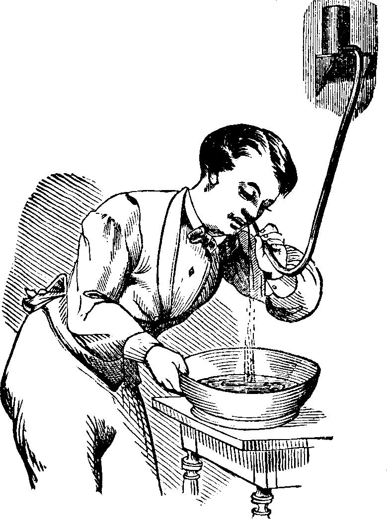 Lavaggio Nasale, Dott. Pierce, 1875