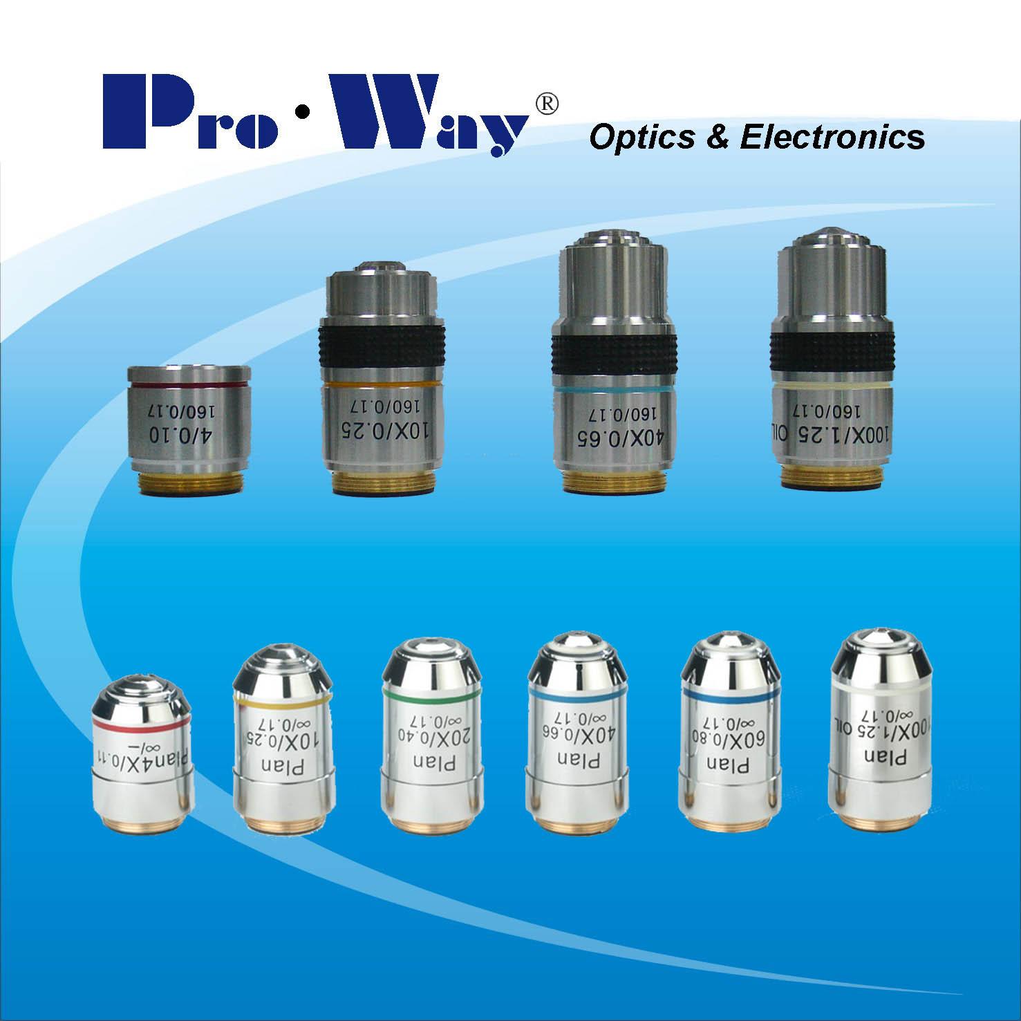 obiettivi microscopio ProWay