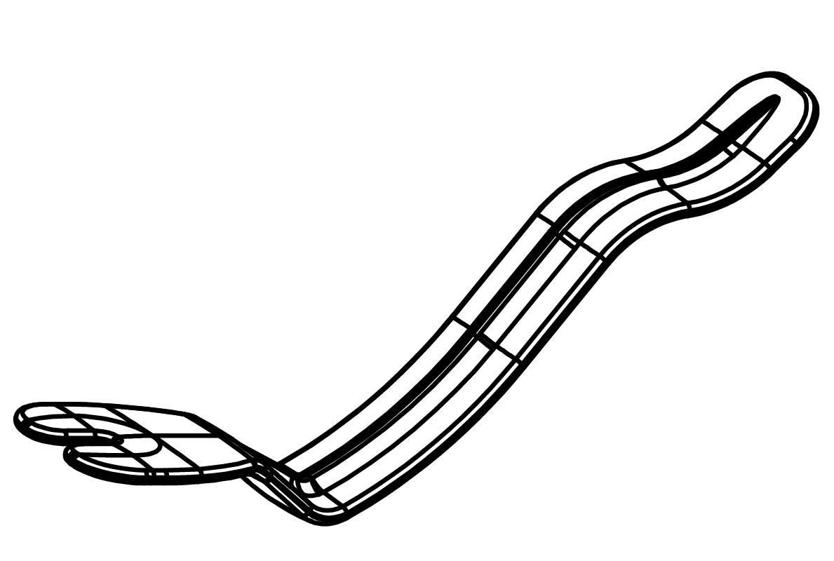 Alzalingua brevetto frenulo linguale